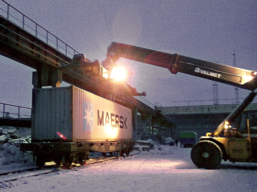 MODUL Company started operation at its new terminal in Arkhangelsk
